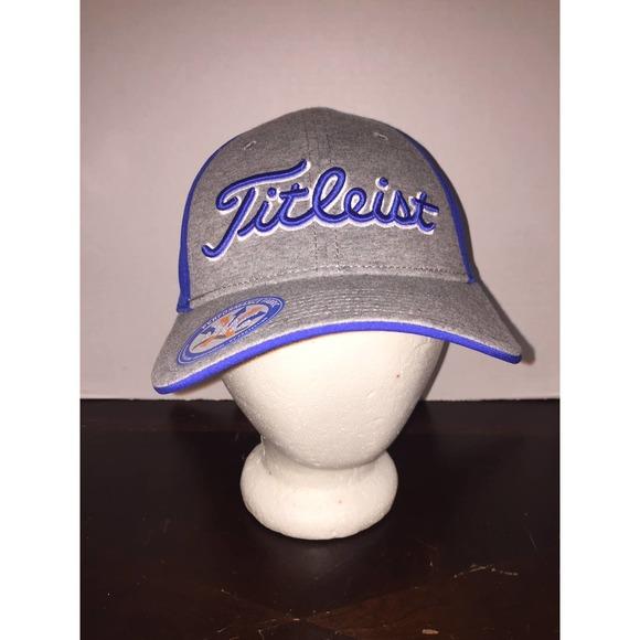 Titleist Golf Blue Ball Cap Hat NWT